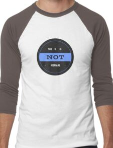 This is Not Normal Seal Men's Baseball ¾ T-Shirt