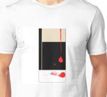Red line. Unisex T-Shirt