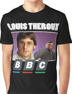 Louis theroux - BBC Graphic T-Shirt