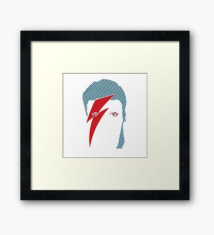 Aladdin Sane Framed Print