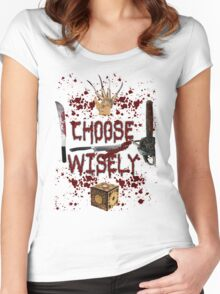 HMMMM..... CHOICES Women's Fitted Scoop T-Shirt