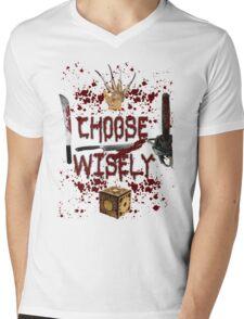HMMMM..... CHOICES Mens V-Neck T-Shirt