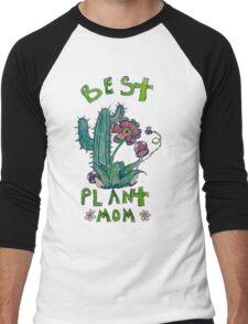 Plant Mom Men's Baseball ¾ T-Shirt
