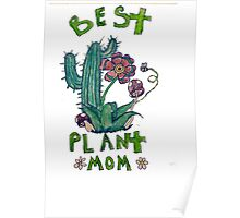 Plant Mom Poster