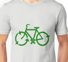 reduce reuse recycle bike.  Unisex T-Shirt