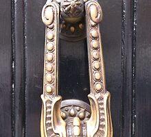 Sherlock's Door Knocker by Lynn Wright