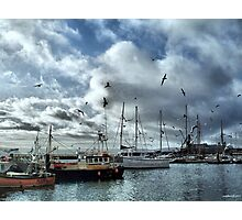 The Fleets In!  Photographic Print
