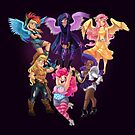Equestria Girls by CherryGarcia