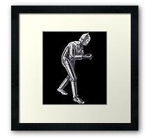 Robot Dempsey Framed Print