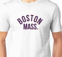 Boston Mass. Unisex T-Shirt