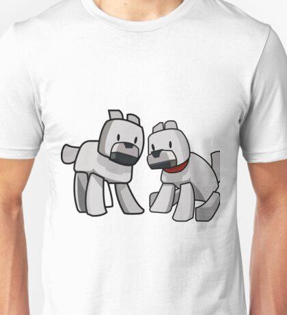 Minecraft Wolf / Minecraft Dogs Unisex T-Shirt