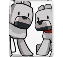 Minecraft Wolf / Minecraft Dogs iPad Case/Skin