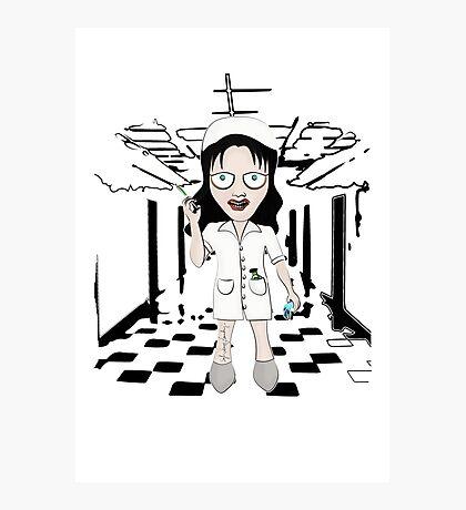 Murder Nurse Photographic Print