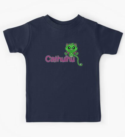 Cathulhu (Lovecraft Loves Cats!) Kids Tee