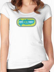 Celina Marathon - Centered Logo Women's Fitted Scoop T-Shirt