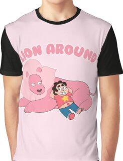 Steven and Lion - Lion Around  Graphic T-Shirt