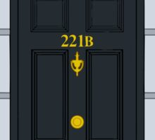 Home - 221B Sticker
