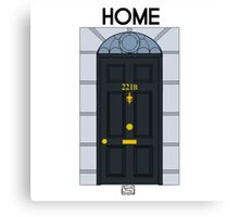 Home - 221B Canvas Print