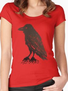 Winged Night Women's Fitted Scoop T-Shirt