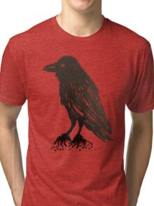 Winged Night Tri-blend T-Shirt