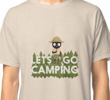 Camping Cat in Park Ranger uniform Classic T-Shirt