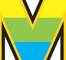 Rainbow Maryland Sticker