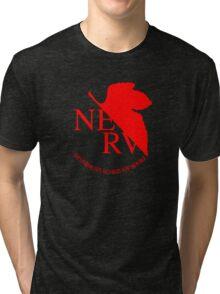 NERV ver.black Tri-blend T-Shirt