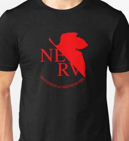 NERV ver.black Unisex T-Shirt