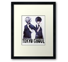 Anime: TOKYO GHOUL - Kaneki Framed Print