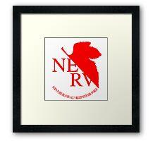 NERV ver.white Framed Print
