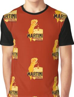 Martini Rosso Vermouth Graphic T-Shirt