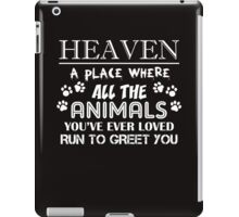 heaven  iPad Case/Skin