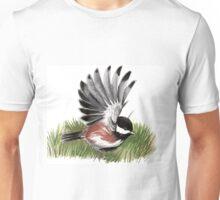 Flying Chickadee Unisex T-Shirt