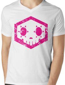 Sombra Skull Mens V-Neck T-Shirt