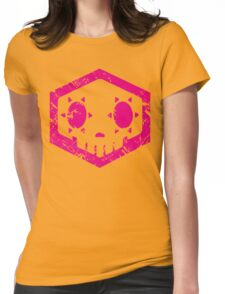 Sombra Skull Womens Fitted T-Shirt