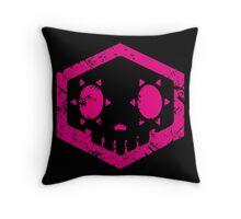 Sombra Skull Throw Pillow