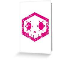 Sombra Skull Greeting Card