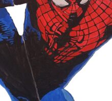 Spidey hanging out Sticker