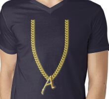 Pimp my Scarlet Letter 'A' by Tai's Tees Mens V-Neck T-Shirt