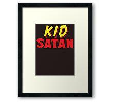 Kid Satan Logo Framed Print