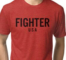 Fighter USA Tri-blend T-Shirt
