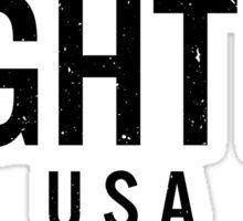 Fighter USA Sticker