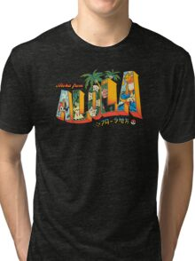 Aloha from Alola Tri-blend T-Shirt