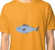 Cute blue sea fish Classic T-Shirt