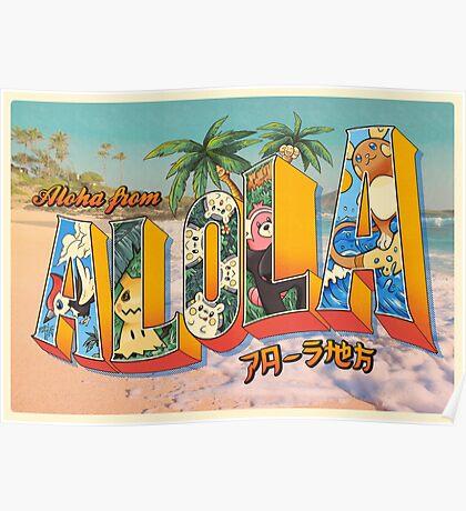 Aloha from Alola Poster