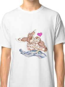 Lovely Love Owls Classic T-Shirt