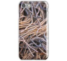 Cut metal wires - 2016 iPhone Case/Skin