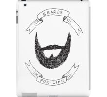 Beards For Life iPad Case/Skin