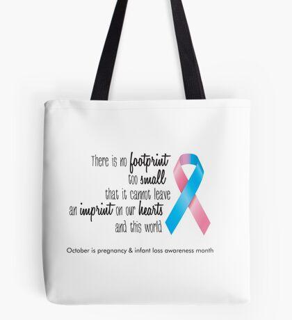Infant Loss Awareness - Ribbon Tote Bag
