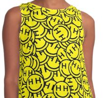 Happy Hippie Foundation Logo (Many) Contrast Tank